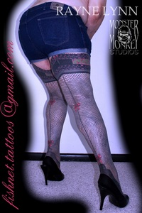 """THis answer has been updated on 11-11-12. That is purely a personal choice that you must make. I personally have had legs tattooed with Fishnets,... and not the large 1"""" squares that are occassionally seen,... but realistic looking Fishnets having 44 strands around each leg in both directions (that's 88 per leg from tattooed lace top & flowered band stocking tops complete with tattooed garter suspenders up to a panty line all the way down to my toes. The FishnetTattoos are finished from the Tattooed Lacey Nylon tops all the way down to my toes on as much skin that accepts tattoos. It is expensive - However being what we've researched and believe to be the most realistic and extensive Fishnet Tattoos ever done and considering this first time required a learning process added to the expense (that considering the size of the legs, the # of Fishnet strands and the complexity of the Tops) would be factors in much more reasonable cost. Originally my artist didn't think it could be done (which was a consistant opinion as I received from no less then 12 other tattoo artists over a 50 mile radius) maintaining that the consistancy of the constant changing shape of the leg, the topography of the legs skin and trying to keep the Fishnets consistant with the spirals down the legs and moving the 'victim' consistantly turning, flippinf, contorting, etc. to allow the artist to be this made it damned near impossible,... until I figured out the mathematical way to be able to do it. My Artist (not understanding it at first) was willing to try and she turned out a fabulous work of body art that has been getting written notariety in the form of e-m's and Blog postings from literally all over the world!!!  To see photos of my Fishnet Tattoos and read a more detailed in depth description of the Fishnets, the Stocking Tops & Garter Suspenders please go to:  https://plus.google.com/117851920865080148141/posts  or simply do a Google Image Search (safety settings set to off) of: Fishnet Tatto"""