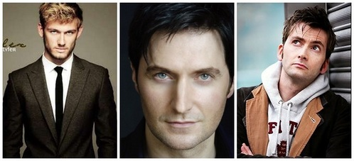 Richard Armitage, David Tennant and Alex Pettyfer