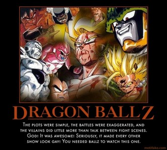 Adventure time!....hahaha no. Dragon Ball Z!!!!!!!!!