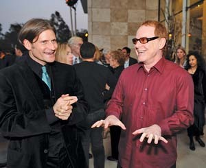 Crispin Glover and Danny Elfman Always loved them soooo much!!!