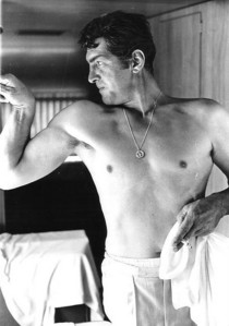 That's Dean Martin. You're welcome.