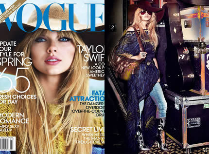 Taylor Swift Teen Vogue..