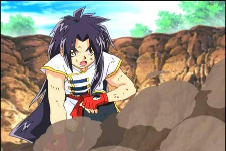 Most of the Beyblade characters have long hair, but Rei Kon is one who has really really long hair! :3