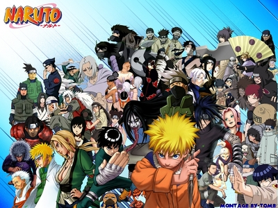 I wasn't TOO young, but this is the thing that I was REALLY into as a kid. I even had a Naruto headband. I wonder what happened to that...XD
