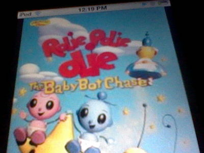 rolie polie olie the great babybot chase