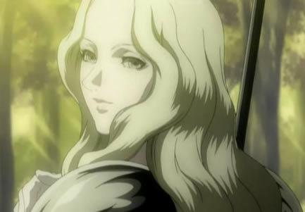 Teresa from Claymore. She was my kegemaran character :'(