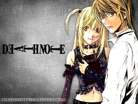 These two! Light 'I'magay' Yagami and Misa Amane. Light killed my L-sama and Misa is just plain annoying.