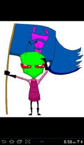 Zim and i are here! :D XD Here is the genral :3