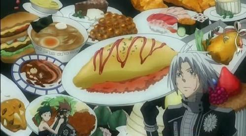 allen / d.gray-man his 最喜爱的 食物 ...is food, he eats everything!