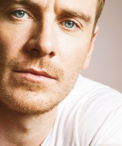 Michael Fassbender and his gorgeous eyes!!!