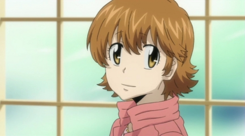 Kyoko sasagawa... I don't know, but I just find her annoying and easy to hate.