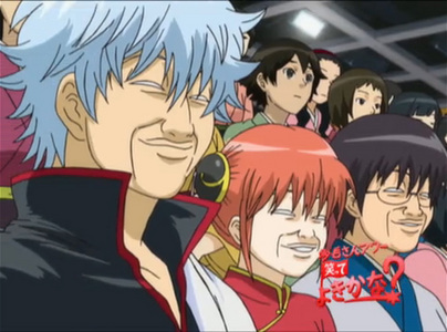 I Think These Images Pretty Much Sums It Up Gintama Main Cast