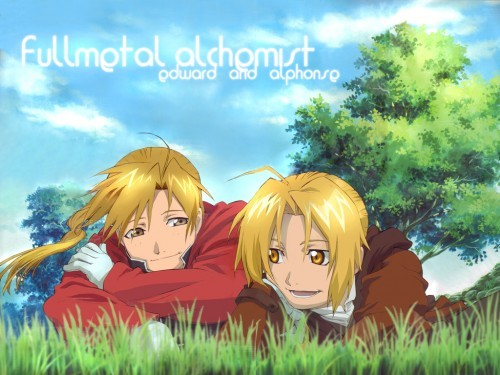 Edward and Alphonse Elric :D