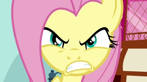 This post makes Fluttershy angry.