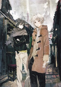 I recommend No. 6. The art is great, the story and dystopian setting is interesting, and the relationship between the two main protagonists is captivating. It could be interpreted as Boys' Love, but I don't think anda should let that stop anda from watching such a magnificent anime. Objectionable content runs high in this one, though. There is bloodshed. There are corpses.