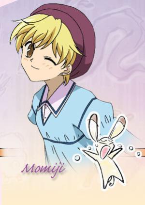 Momiji from Fruits Basket is half German!