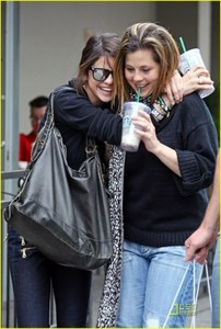 Sorry it is small but ths is er best pic of starbucks, check out the link!