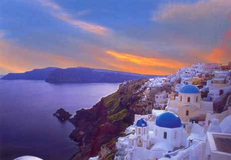 They are all great,but Santorini and Rhodes have a special place in my heart <3