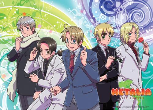 everyone from hetalia - axis powers expect Japão