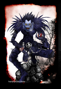 Probably Ryuk's outift from Death Note! SO AWESOME!! :D