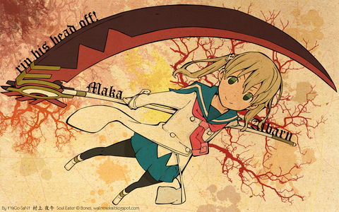 I kinda have a crush on Maka from Soul Eater. Which weird considering my sister acts just like Maka. I do have other crushes tho.