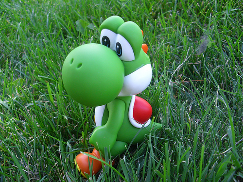 Any game with Yoshi is cool, but I enjoy Yoshi's Story :)