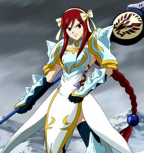 Erza's Lightning Empress Armor!
