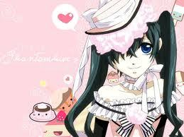 Post A Picture If Anime Girl With Long Black Hair And Blue Eyes I