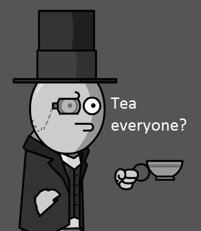 Too much sugar. I prefer a cup of tea.