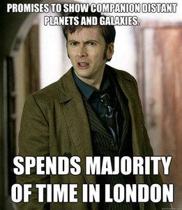 The Doctor must Любовь London.