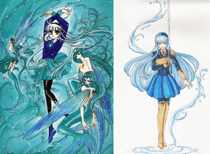Umi from Magic Knight Rayearth. I think of the series as a brilliant plot with poor execution; If CLAMP had doubled the series in length & let it take it's time instead of rushing it & had added some X1999 style violence to it, it could have been epic.