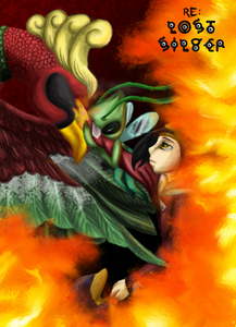 It's sad, really, and it's a creepypasta, but it's the only 'cute' pic I've seen of Ho-oh.