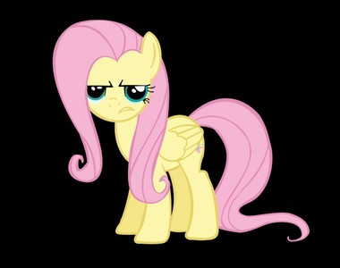No matter what expression...ponies are always cute. Especially Fluttershy