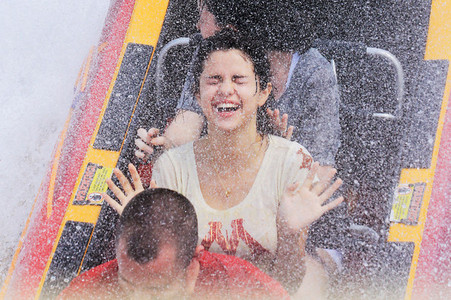 Cute Sel with water... :)