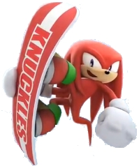 Yep, I did... :P I was always Knuckles, even at the sports that didn't suit him. I guess he was just awesome like that...