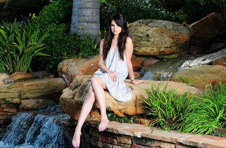 Beside waterfall <3