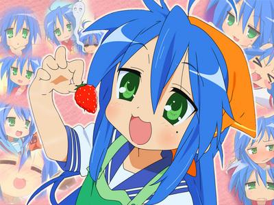Konata Izumi from Lucky Star..