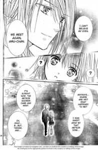 "Im pretty sure she ends up with ikuto because in vol 11 of the manga older tadase sees her and says ""we meet again Amu-chan."" wich implies that she hasn't seen her in a while so the obviously didn't get married so she ended up with ikuto"