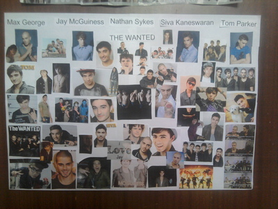 Phone oder my The Wanted posters