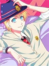 My fave colour is bright blue <3 Here is Syo <3