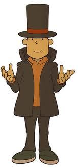 Professor layton..... I'd have him teach me puzzles....or the accent....