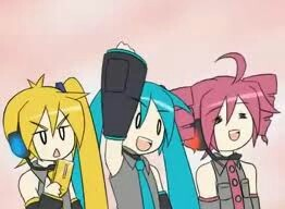 vocaloids wouldnt come after me! Because i would distract them por getting them to sing triple baka! :D