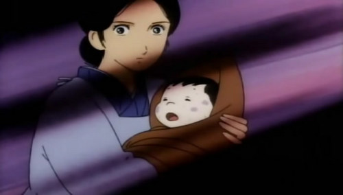 It's a tie..... Grave of the Fireflies: *Main character dies immediately. Flashback to his last days on earth. *Bomb dropped, house destroyed. *Kids find mother in a hospital wrapped head to toe in bandages. She dies. *Relatives treat kids like crap. Woman nags little boy to 登録する military. *Children become homeless, live in a cave. *Sister (a toddler) dies of malnutrition. *Boy learns that his father's plane was shot down. Barefoot Gen: *Bomb drops on town. Children, babies, & a dog are burnt up, liquefied, & showered with shards of glass. *Main character loses his home. *Caved-in roof crushes dads skull. *Mother watches helplessly as her children burn to death. Stress causes premature birth of child. *Boy starts to 表示する the same symptoms as a man he watched die of radiation poisoning. 安全, 安全です bet he has cancer now. *Boy & adopted brother get jobs to buy ミルク for the baby because the mother has no 食 to make milk. The baby dies of starvation.