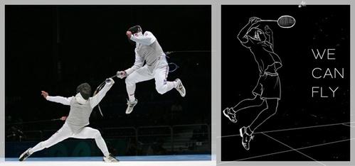 Fencing or Badminton :)