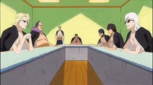 Shinigami dandy meeting!