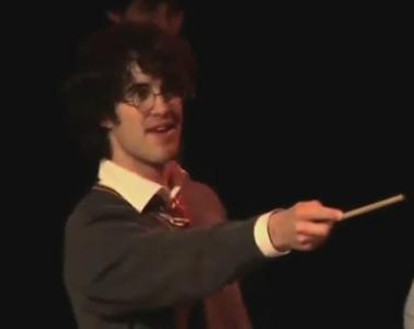 hmmm tough call.... HARRY FREAKIN POTTER! (the darren criss potter not whoever really plays harry potter)