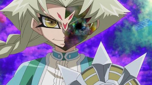 Tron from Yu-Gi-Oh! Zexal (The picture is his real face)