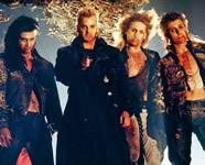All four lost boys, David, Dwayne, Paul and Marko. It's an older movie but they're awesome!