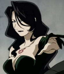 Lust-san from Fullmetal Alchemist especially in the first アニメ how she wanted to learn about her past and how she tried to help Ed in some episodes.