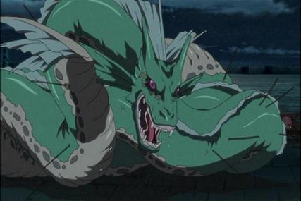 Envy when he was a dragon in Conquer of Shamballa. I still do not understand what the creators were thinking...
